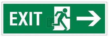 Rescue signs icon exit emergency exit figure door ...