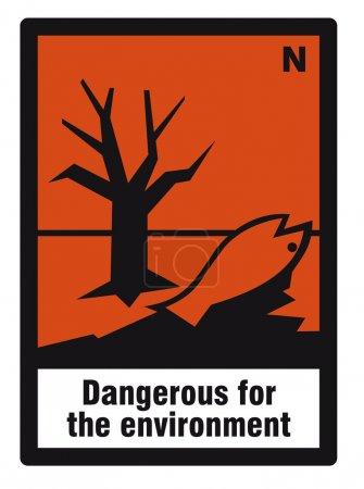 Safety sign danger sign hazardous chemical chemistry danger environment