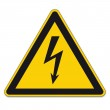 Warning Signs Warning of dangerous electrical volt...