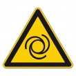 Warning signs warning of automatic starting on Whi...