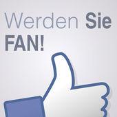 Face symbol hand i like fan fanpage social voting dislike network book Werde Sie fan