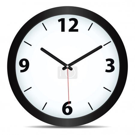 Illustration for Vector mechanical clock - Royalty Free Image