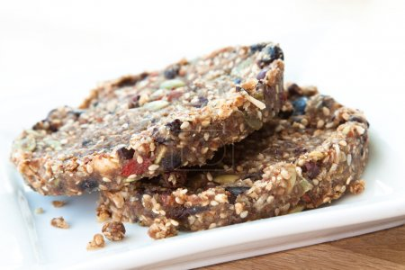 Delicious vegan cookies made with almonds, goji be...