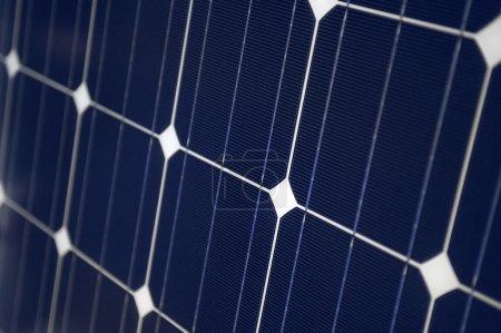 Foto de Cierre de paneles solares - Imagen libre de derechos