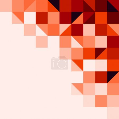 Red tiled background