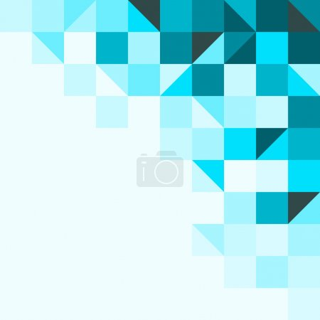 Illustration for Background structure from geometric shapes in one tone - Royalty Free Image