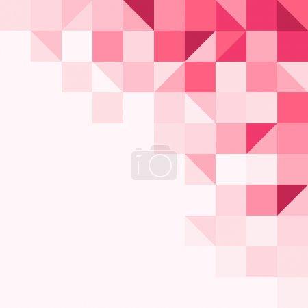 Illustration pour Structure de fond à partir de formes géométriques dans un ton - image libre de droit