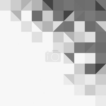 Light grey geometric background