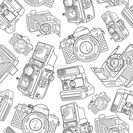 Old camera pattern