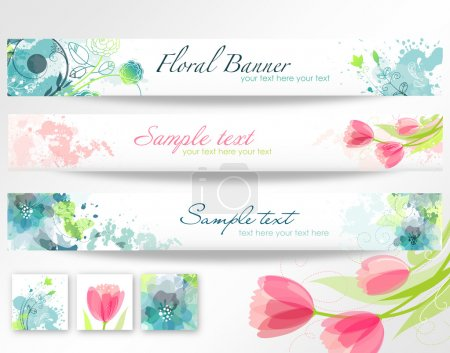 Beautiful floral headers