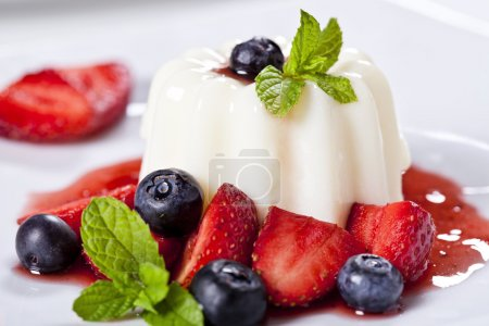 Panna Cotta Close Up