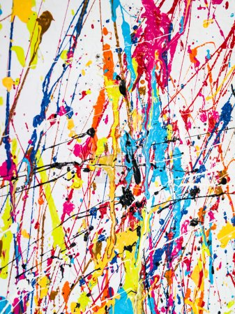 Photo for Paint splatter - Royalty Free Image