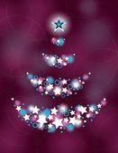 Vánoční strom. vektorové ilustrace
