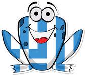 Greece frog