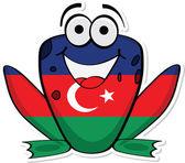 Azerbaijan frog
