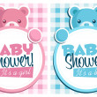 Baby shower invitation cards....