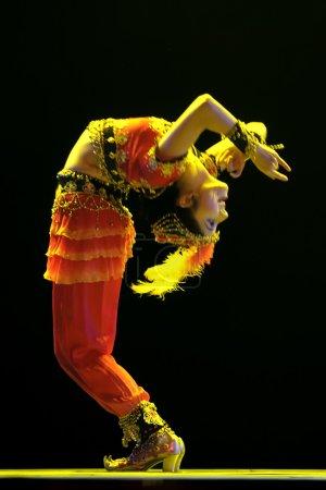 Chinese Uighur dancer