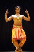 Indické kalakshetra tanečník