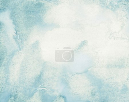 Photo for Abstract watercolor background with space for text - Royalty Free Image