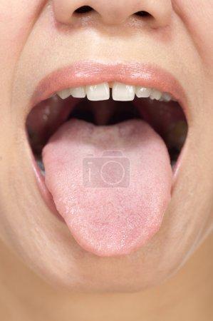 Woman Tongue