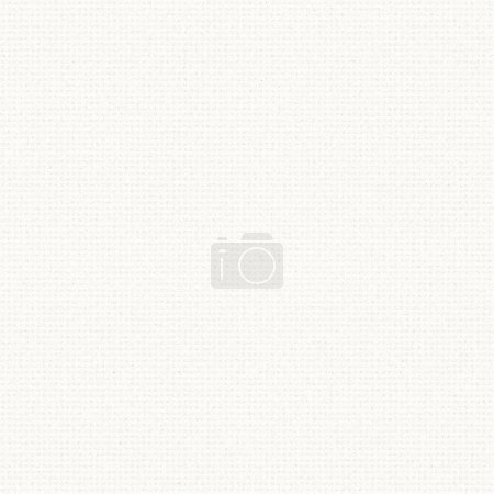 Photo for White canvas texture with delicate grid pattern seamless background - Royalty Free Image