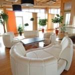 Rendering Interior fashionable living-room....