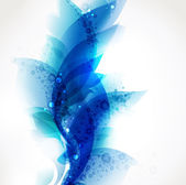 Abstract blue elements for design