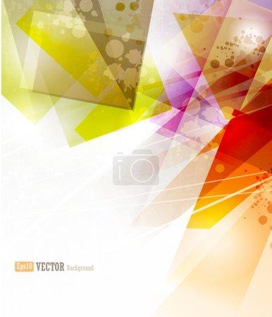 Illustration pour Contexte commercial abstrait vectoriel - image libre de droit
