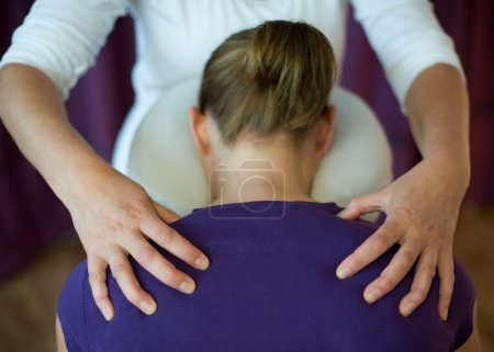 Photo for Shiatsu massage - Royalty Free Image