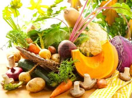 Photo for Still life with autumn vegetables - Royalty Free Image