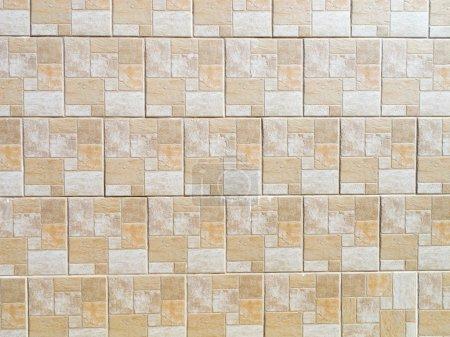 Photo pour Carreaux de céramique transparente avec une texture marbre pour murs - image libre de droit