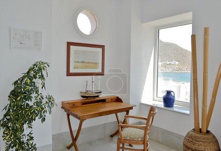 Mediterranean seaside study.