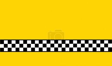 Illustration pour Carte de taxi - image libre de droit