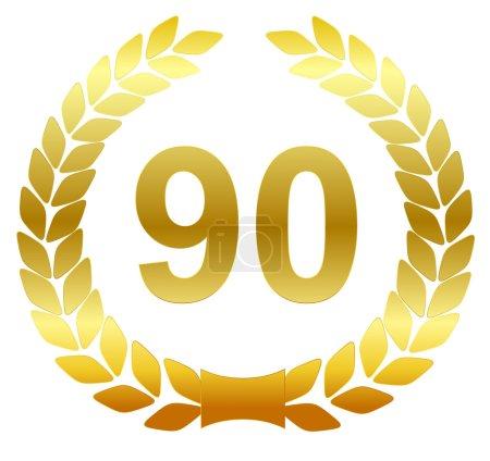Laurel wreath - 90