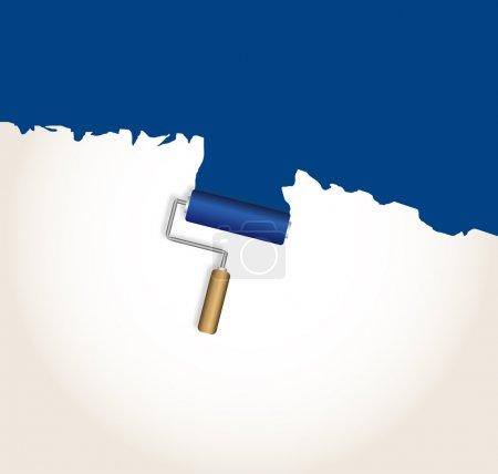 Illustration for Logo design. blue - Royalty Free Image