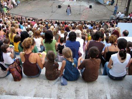 Photo pour Ouvrir le théâtre - image libre de droit