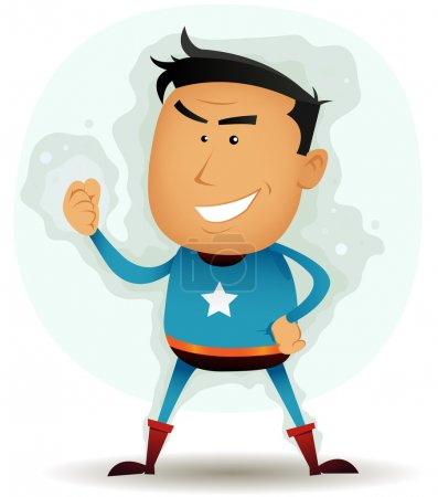 Comic Superhero Character