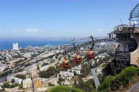 Funicular railway in Haifa