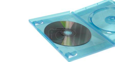 Blank DVD CD GAME in clear blue box