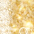 The beautiful holiday abstract gold background wit...