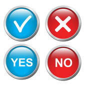 Tlačítka Ano a ne