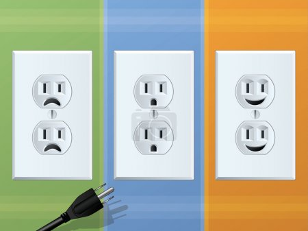 Power Outlet Faces