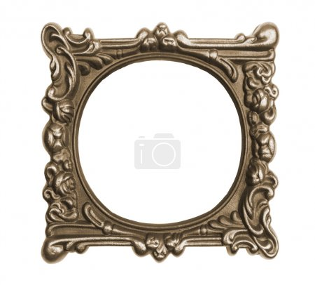 Ornate vintage frame isolated