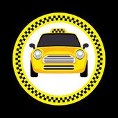 Vector of a taxi