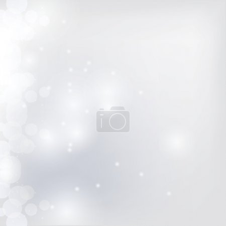 Illustration for Abstract background with bokeh - Royalty Free Image