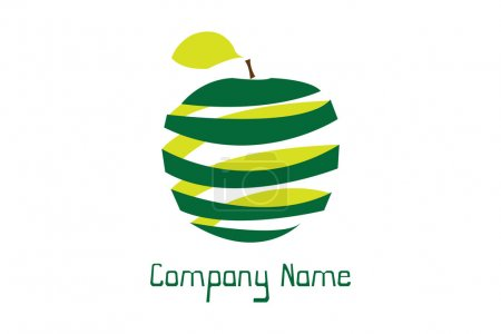 Photo for Simple and clean logo good for nature and ecological companies. - Royalty Free Image