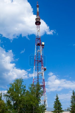 Communications Tower in the sky