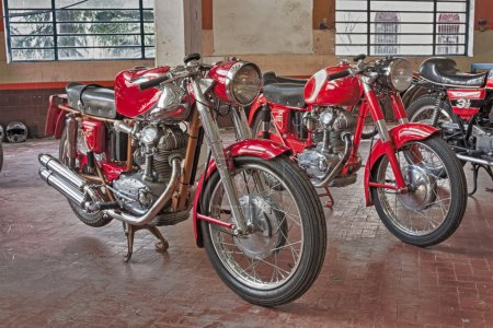 Old motorcycles Ducati