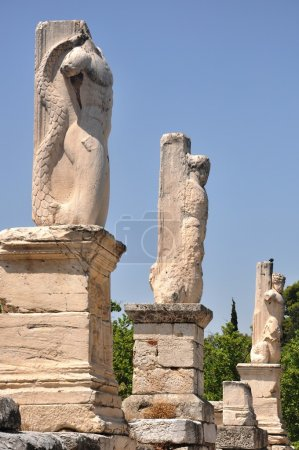 Ancient Agora - Athens Greece - Odeion of Agrippa