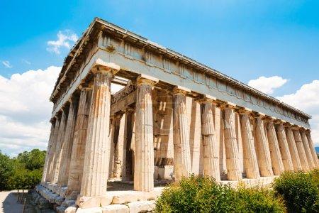 Ancient Temple Greek Ruins Acropolis